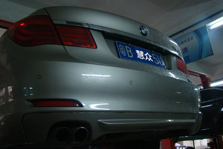10年款宝马730li 6速自动变速箱 行驶中亮故障灯 锁档故障维修案例